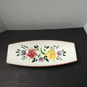 Stangl Pottery Country Garden Dish Bread Tray